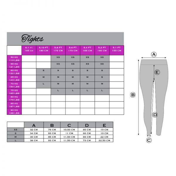 Fitness Legging Dames Roze Annapolis - Gorilla Wear-3