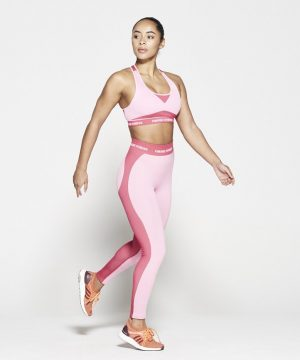 Fitness Legging Dames Roze Seamless - Pursue Fitness-4
