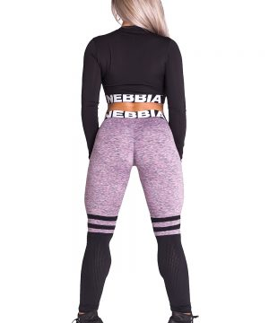 Fitness Legging Dames Sox Lila - Nebbia Leggings 286-1
