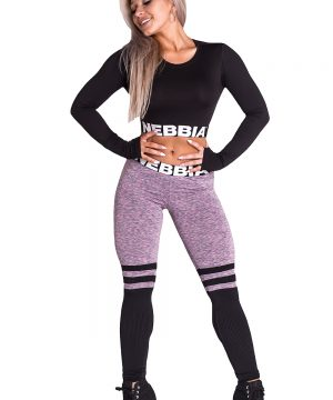 Fitness Legging Dames Sox Lila - Nebbia Leggings 286-2