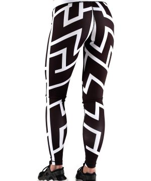 Fitness Legging Dames Stripe - Muscle Brand-2
