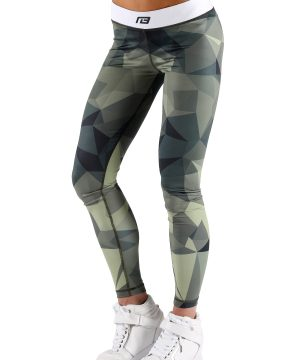 Fitness Legging Dames Survivor - Muscle Brand-1