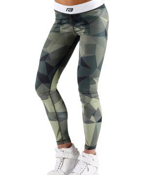 Fitness Legging Dames Survivor - Muscle Brand-1