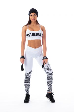 Fitness Legging Dames Wit - Nebbia 215-1