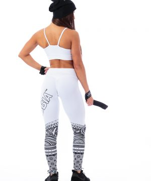 Fitness Legging Dames Wit - Nebbia 215-2