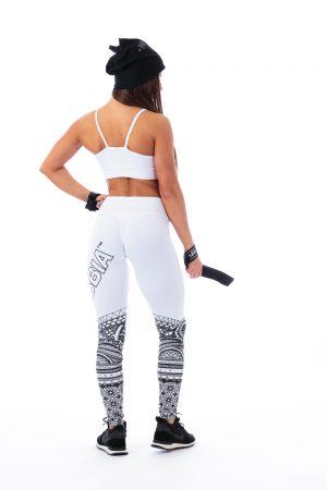 Fitness Legging Dames Wit - Nebbia 215-2
