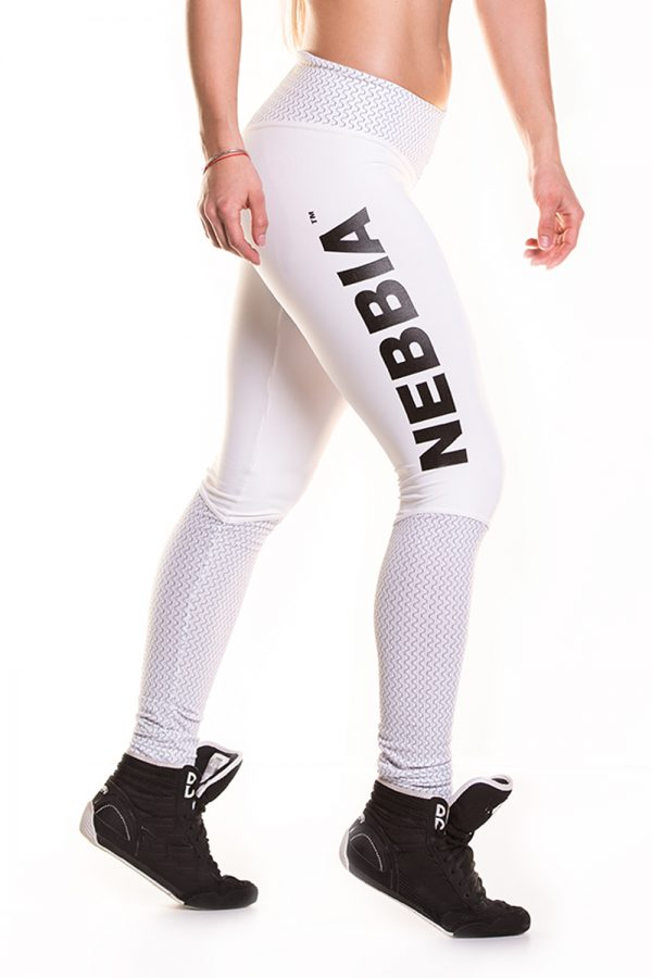 Fitness Legging Dames Wit - Nebbia Leggings 280-1