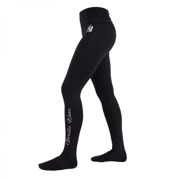 Fitness Legging Dames Zwart Annapolis - Gorilla Wear-2