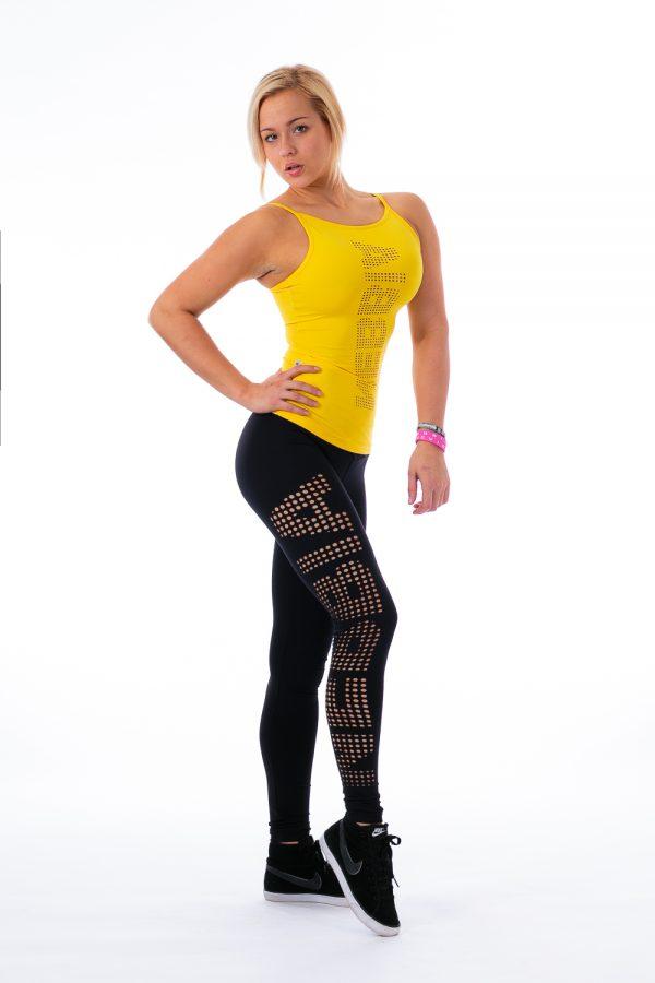 Fitness Legging Dames Zwart - Nebbia 211 Laser-1