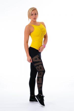 Fitness Legging Dames Zwart - Nebbia 211 Laser-2
