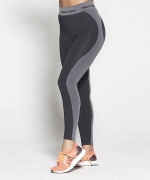 Fitness Legging Dames Zwart Seamless - Pursue Fitness-1