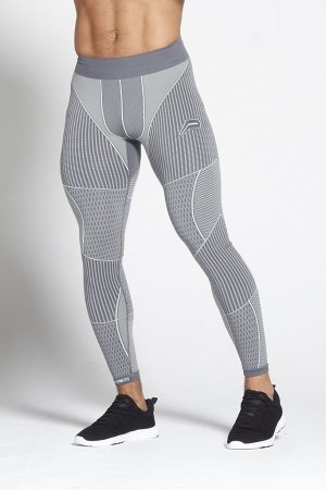 Fitness Legging Heren Grijs Xeno - Pursue Fitness-1