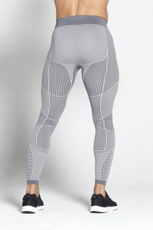 Fitness Legging Heren Grijs Xeno - Pursue Fitness-2