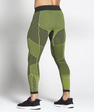 Fitness Legging Heren Groen Xeno - Pursue Fitness-2