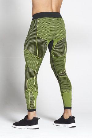 Fitness Legging Heren Groen Xeno - Pursue Fitness-2
