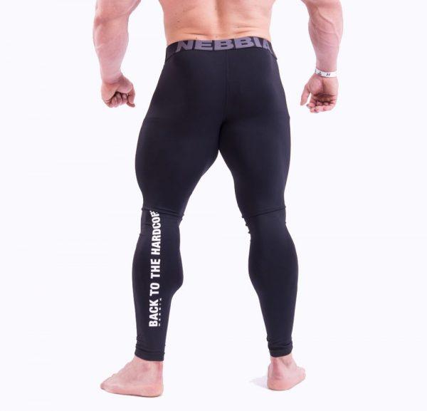 Fitness Legging Heren Zwart - Nebbia 315-2