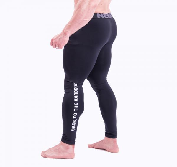 Fitness Legging Heren Zwart - Nebbia 315-3