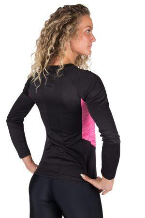 Fitness Longsleeve Dames Roze - Gorilla Wear Mineola-2