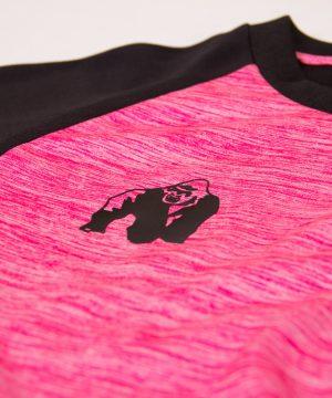 Fitness Longsleeve Dames Roze - Gorilla Wear Mineola-4