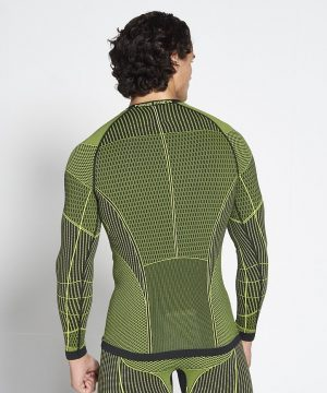 Fitness Longsleeve Heren Groen Xeno - Pursue Fitness-2