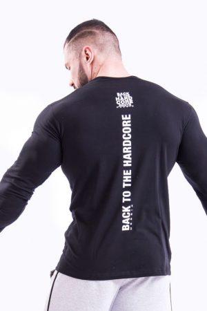 Fitness Longsleeve Heren Zwart - Nebbia 341-2