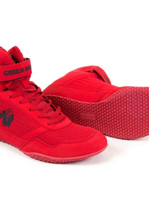 Fitness Schoenen Rood - Gorilla Wear High tops-1