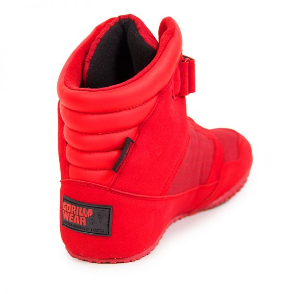 Fitness Schoenen Rood - Gorilla Wear High tops-3