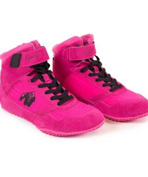 Fitness Schoenen Roze - Gorilla Wear High tops-1