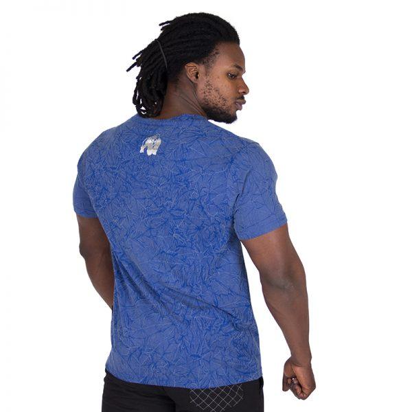 Fitness Shirt Blauw - Gorilla Wear Rocklin-2 kopie