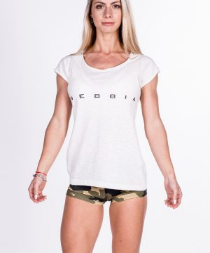 Fitness Shirt Dames Wit - Nebbia 277-1