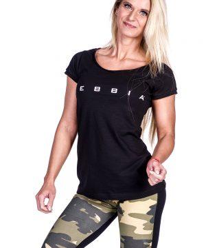 Fitness Shirt Dames Zwart - Nebbia 277-1