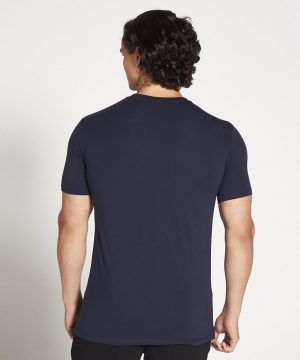 Fitness Shirt Heren Blauw Stretch - Pursue Fitness-3