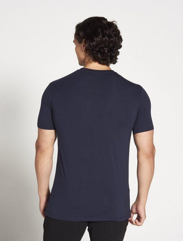 Fitness Shirt Heren Blauw Stretch - Pursue Fitness-3