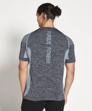 Fitness Shirt Heren Blauw Xeno - Pursue Fitness-2