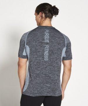 Fitness Shirt Heren Blauw Xeno - Pursue Fitness-2