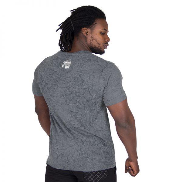 Fitness Shirt Heren Grijs - Gorilla Wear Rocklin-2