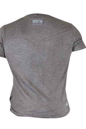 Fitness Shirt Heren Grijs - Gorilla Wear USA-2