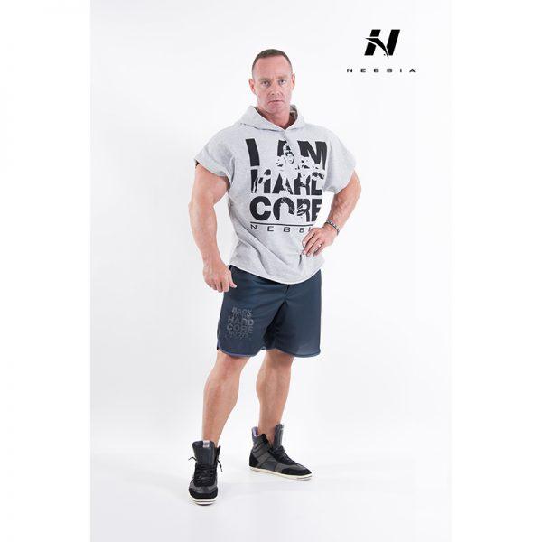 Fitness Shirt Heren Grijs - Nebbia 311-1