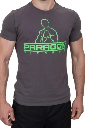 Fitness Shirt Heren Grijs - Paragon Fitness-1