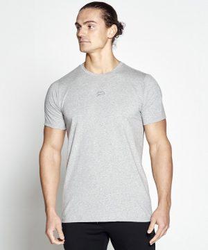 Fitness Shirt Heren Grijs Pro-Fit - Pursue Fitness-1