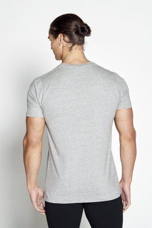 Fitness Shirt Heren Grijs Pro-Fit - Pursue Fitness-2