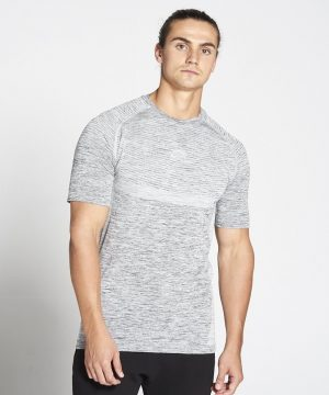 Fitness Shirt Heren Grijs Xeno - Pursue Fitness-1 kopie