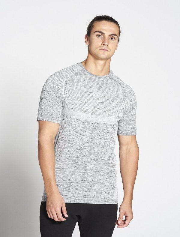 Fitness Shirt Heren Grijs Xeno - Pursue Fitness-1 kopie
