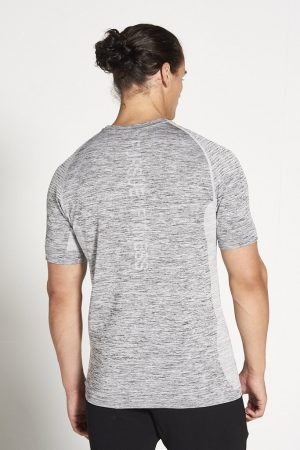 Fitness Shirt Heren Grijs Xeno - Pursue Fitness-2 kopie