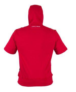 Fitness Shirt Heren Rood - Gorilla Wear Boston-2
