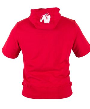 Fitness Shirt Heren Rood - Gorilla Wear Boston-3