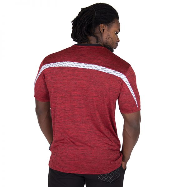 Fitness Shirt Heren Rood - Gorilla Wear Roy-2