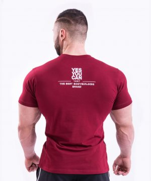 Fitness Shirt Heren Rood - Nebbia 396-2