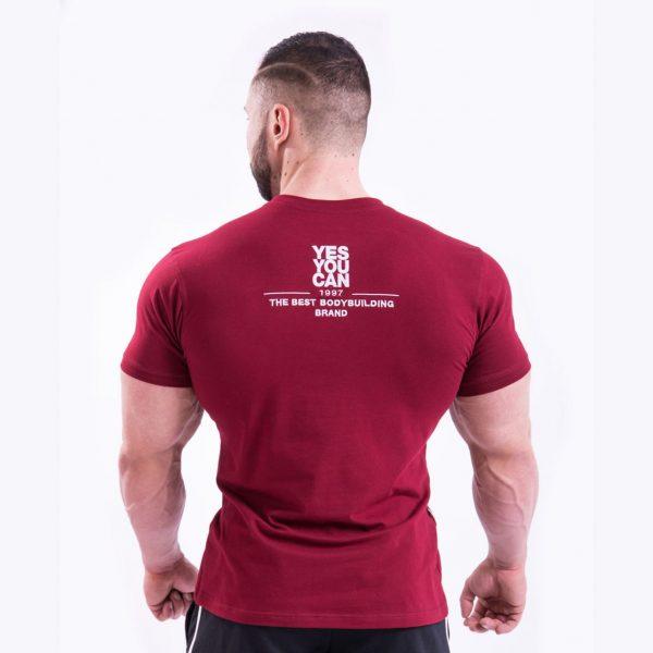 Fitness Shirt Heren Rood - Nebbia 396-2