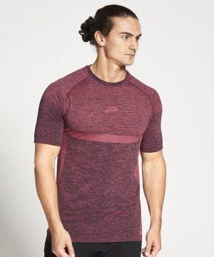 Fitness Shirt Heren Rood Xeno - Pursue Fitness-1
